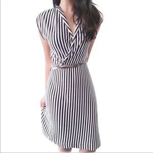Anthro Saturday Sunday Cabana striped dress